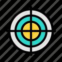 crosshair, target, focus, archery, weapon