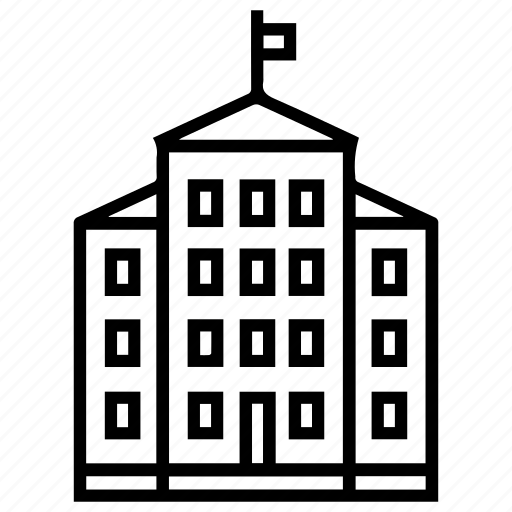achitecture, building, hotel, house, real estate, structure icon