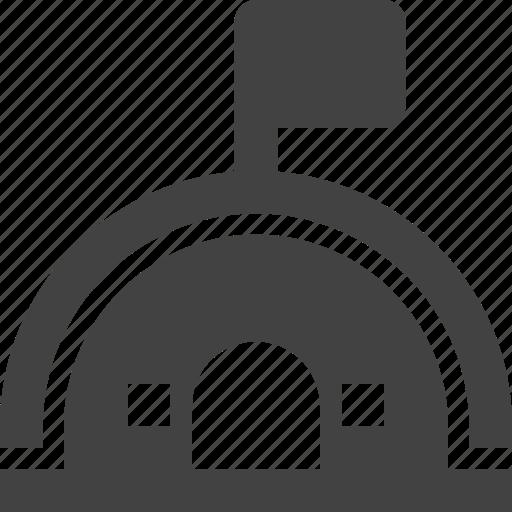 arch, architecture, building, landmark icon