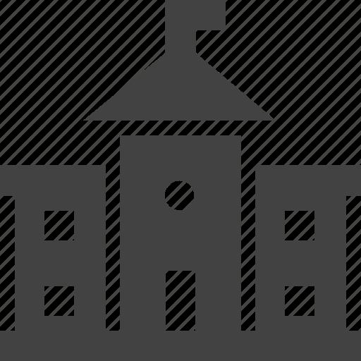 Architecture, building, castle, landmark icon - Download on Iconfinder