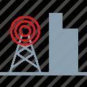bulding, energy, factory icon