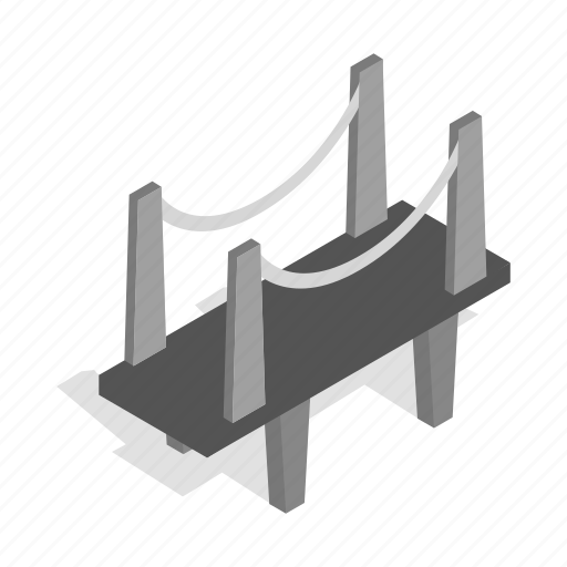 construction, industrial, industry, isometric, scaffold, scaffolding icon