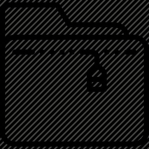 archive, folder, management, sized, zip icon