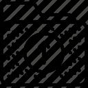 archive, arrow, data, folder, upload icon