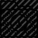 archive, arrow, data, download, folder icon