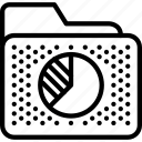 archive, chart, data, folder, report, seo icon