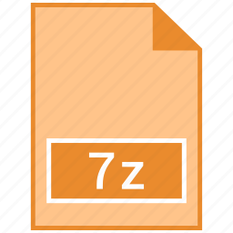 7z, archive file format icon
