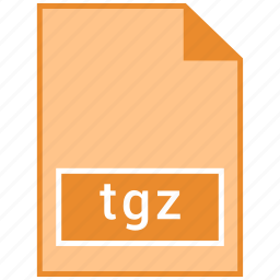 archive file format, tgz icon