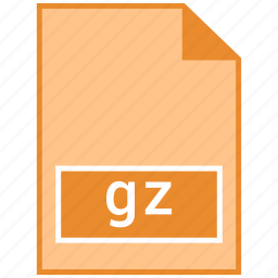 archive file format, gz icon