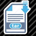 document, file, format, tar