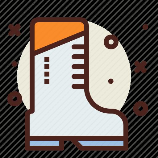 boot, snow, winter icon