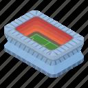 cartoon, football, isometric, open, soccer, sport, stadium