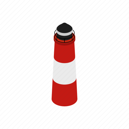 argentina, isometric, lighthouse, patagonia, sea, south, ushuaia icon