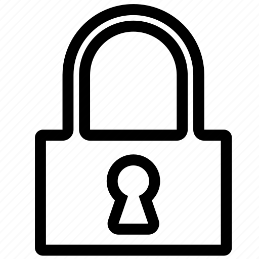 key, lock, locked, log in, login, padlock, password, private, protection, safe, secure, secured, security icon