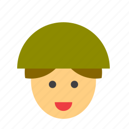 armed, army, forces, man, military, people, soldier icon