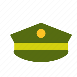 armed, army, forces, hat, military icon