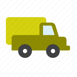 armed, army, forces, military, transport, truck, war icon