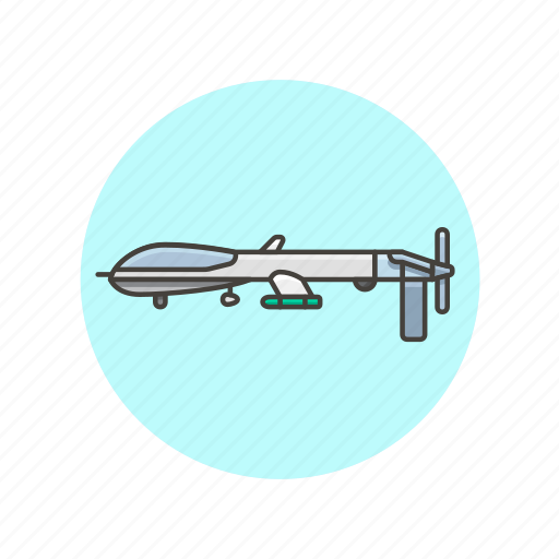 aircraft, army, drone, military, plane, transport, vehicle icon