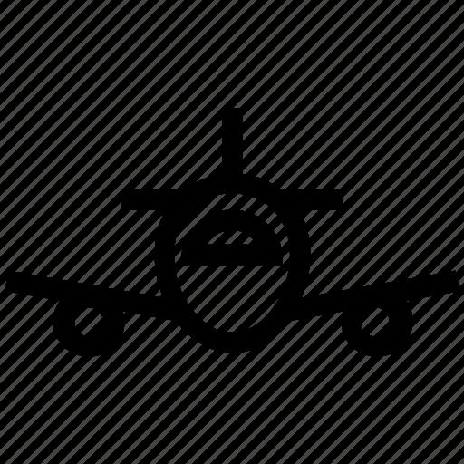 air plane, airplane, army, flight, force, plane, war icon