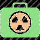 army, baggage, danger, dangerous, luggage, military, warning icon