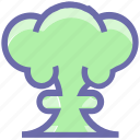 army, atomic, blast, bomb, explosion, military, nuclear icon
