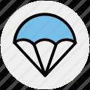 air, air balloon, army, fly, glider, hot air balloon, military icon