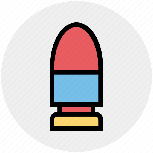 ammunition, army, bullet, military, navy, war, weapon icon