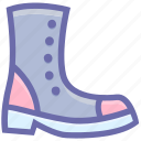 army shoe, foot, force, military, protection, shoe, war icon