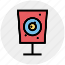 aim, gun, rmy, shooting, soldier, target, training icon