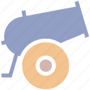 army, gun, military, missile, vehicle, war, weapon icon