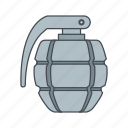 army, bomb, grenade, war icon