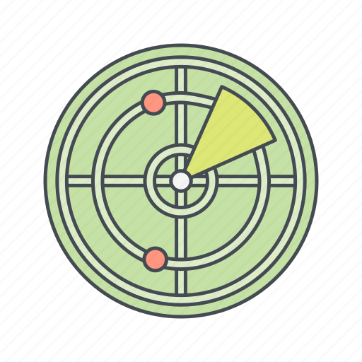 navigation, radar, satellite, signal, technology icon
