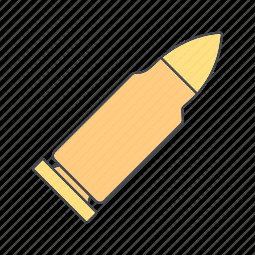ammo, ammunation, bullet, military, shot icon