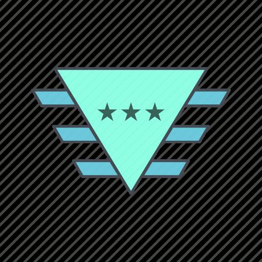 badge, medal, military, reward, soldier icon