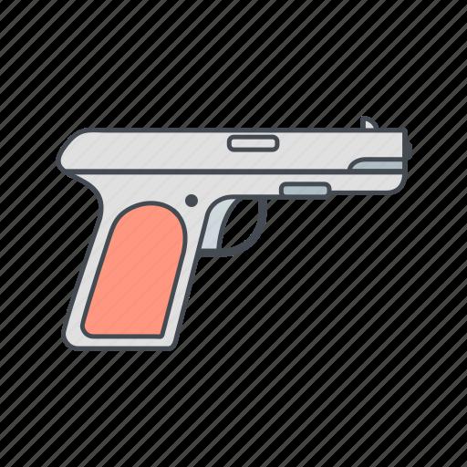 army, gun, pistol, police, weapon icon