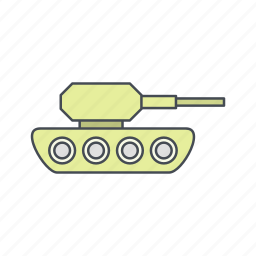 army, military, tank, war icon