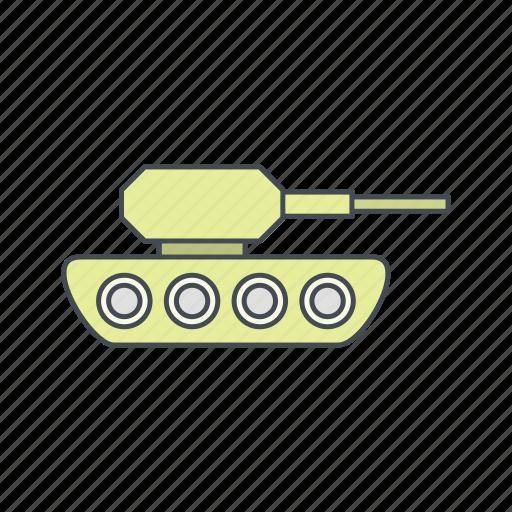 army, military, tank, target, war icon