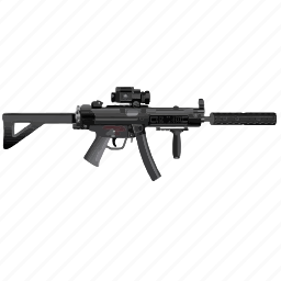 army, gun, optics, snipper, terrorist, usa, weapon icon