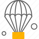 fly, air, hot, balloon