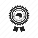 achievement, award, coronal, helmet, medal, star, triumph, trophy, victory, win, winner icon