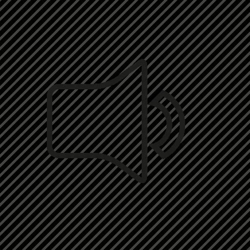audio, down, low, speaker, ui, volume icon