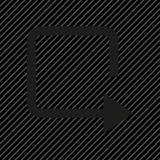 arrow, cursor, direction, loading, reload icon