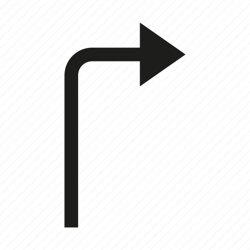 arrow, cursor, direction, right icon