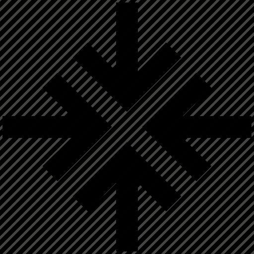 .svg, arrow, arrows, corner, four, pointer icon