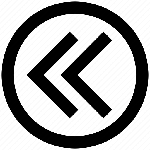 .svg, arrow, circle, disclosure, forward, left arrow icon