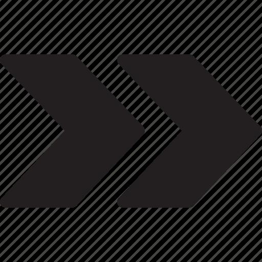 arrows, next, right arrow, skip icon