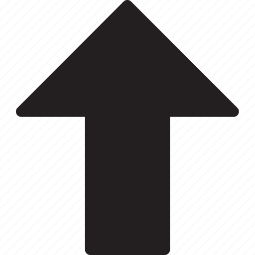 arrows, direction, down arrow, multimedia, orientation, upload icon
