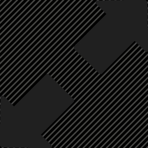 arrows, direction, download, downloading, multimedia option, orientation, ui icon