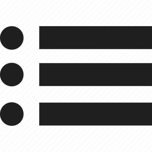 arrow, bulet, down, list, menu, right, up icon