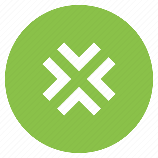 arrow, arrows, direction, minimize, move icon